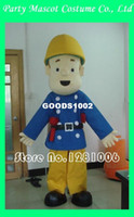 Wholesale custom fire man mascot costume fireman sam walking act
