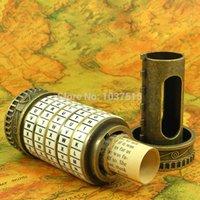 Wholesale The Da Vinci Code lock alphabetic code lock chamber tank top props storage box real game Room Escape props