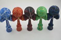 Wholesale Japanese traditional wooden toys kendama skills ball crack jade sword ball cm kendama