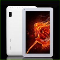 Wholesale Newest quot quot ATM7029B Quad Core Tablet PC Actions G G GB GHz with Dual Camera Flashlight Bluetooth HDMI Pad A33