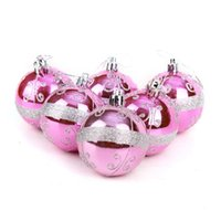 ball specifications - Hot Sale cm Christmas balls specification can be customized more Christmas decoration supplies Light Pink