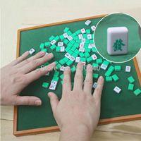 Wholesale NEW Portable Mini Mah Jongg Set Table Travel Mah Jongg Party Game Instructions shipping by chinese post