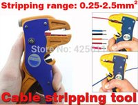 automatic cable strippers - cable stripping tool automatic wire stripper for single or multiple cables section mm2