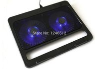 Wholesale inch Fan Dual USB Port Laptop Notebook Cooling Pad Cooler Stand