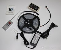 100M Meter Magic LED bande de rêve couleur 6803 IC 5050 RGB SMD lumière 150 LED 5M étanche 133 couleurs avec contrôleur avec alimentation par DHL