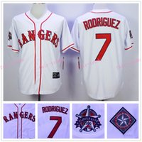 texas rangers - Ivan Rodriguez Jersey All Star Patch Texas Rangers Home Jersey White