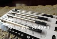 al por mayor jinhao bolígrafos rollerball-La pluma de 10pcs JINHAO Rollerball rellena el negro de 0.5mm