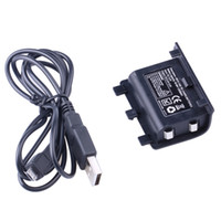 Cheap USB Rechargeable Play and Charge Battery Charger Kit 1200 mAh batteries For Xbox ONE Controller in stock 002107