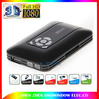 Wholesale Full HD P Media Player Mini Media Player Support SD SDHC MMC Cards HDMI