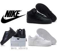 elastic band - High Quality Nike Air Force Men Women Sports Skateboarding Shoes Cheap White Nike Air Force one Shoes Size