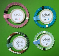Wholesale Hot Lokai Bracelet Multicolors Silicone S XL LOKAI Charms Bracelet Mud For Women Men With LOGO Package Free DHL Shipping