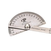 angle protractor tool - Professional Measuring Tool Stainless Steel Digital Protractor Round Head Rotary Goniometer Angle Ruler ferramentas manuais