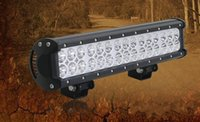 Wholesale 14 quot W CREE LED Light Bar Jeep Truck Trailer x4 WD SUV ATV Off Road Car v Work Working spot flood beam light bar