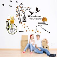 animals outings - wall stickers home decor Home accessories DIY self adhesive decorative painting wall stickers outing living room bedroom wall stickers remov