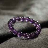 amethyst rosary - NEW Natural cm Amethyst Beads Crystal Prayer Bracelet Rosary Bangle Fashion Jewelry