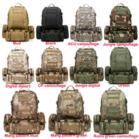 Wholesale New L Molle Tactical Assault Outdoor Military Rucksacks Backpack Camping Bag Large Color