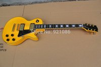 Wholesale Chinese GB Custom shop vintage yellow LP electric guitar free gift CST Z48