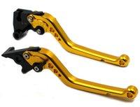 bandit brakes - Eight Colors Long Alumium CNC Handlebars Brake Lever For SUZUKI GSXR750 GSXR1000 HAYABUSA GSXR1300 B KING GSF BANDIT KLT L