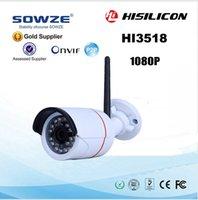 Wholesale IP Camera P MP Securiy Waterproof Full HD Network CCTV Camera Support Phone Android IOS P2P ONVIF2 WIFI Camera