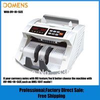 Wholesale Multi Currency Money Counter with UV IR detection DMS S Cash Counting Machine