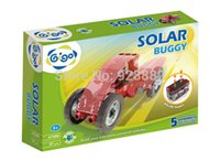 Wholesale Gigo science toys building solar powered vehicles models Green Energy Series Solar Buggy Model Building Kits Toys