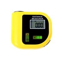 Wholesale Laser Pointer Designator Backlight range finder M Ultrasonic Distance Meter LCD Handheld Measurer Tool Rangefinder