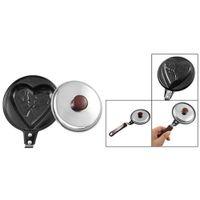 Wholesale x New Heart Shape Mini Plastic Metal Egg Pancake Mini Non Stick Fry Frying Pan order lt no track