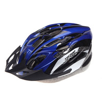 Wholesale Ultralight Vents Outdoor Sports Cycling Helmet with Visor Mountain Road MTB Bike Bicycle Helmet Adult Blue Red Gold g