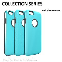 apple iphone collection - Collection Series cell phone cases for iphone s plus TPU PC protection cell phone case frame with DHL free
