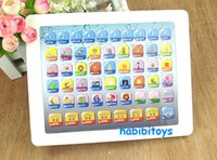 Wholesale Tablets point reading machine learning in both Chinese and English toys for babies