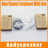 Wholesale 3 mm xiaomi In Ear Earphone With Mic and Remote headphone for XiaoMi Mi Smart Phones for samsung for mobile phone up