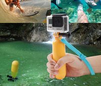 camera hand grip - New Arrival Yellow Water Floating Hand Grip Handle Mount Float Accessory for Gopro Hero Price