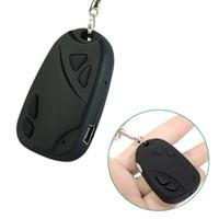 Wholesale MINI SPY CAR KEY HIDDEN CAMERA KeyChain Digital CAM Chain DV DVR WebCam Camcorder Video Recorder