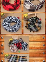 best dong - The best gift In classic boy girl baby cotton plaid scarves qiu dong Super soft plaid scarves