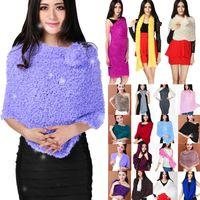 poncho shawl - Fashion Women Girls Magic Warm Scarf Scarves Multiple Style Soft Shawl Neck Warmer Wrap Cardigan fx204