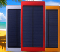 Wholesale 300000mAh Solar Power Bank Charger Battery Backup Galaxy Iphone Portable Mobile