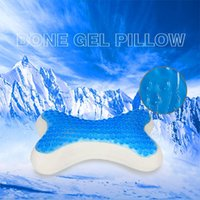 Wholesale New Summer GEL Car Pillow Slow rebound Cool comfortable Neck Pillow Bone Car Health Care Pillow M