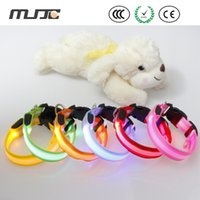 absolutely pets - Absolutely Safe LED Collar Pet Procducts Multi Color Dog Collars Leashes Nylon Material