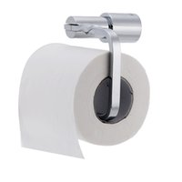 Wholesale Durable All copper Chromed Toilet Paper Holder Wall Mounted Bathroom Tissue Rack Excellent Chrome Bathroom Accessory
