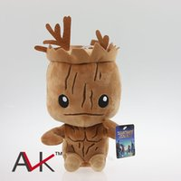 Wholesale New Marvel Superhero Guardians of the Galaxy cm toy Groot Plush dolls for kids best gift EMS