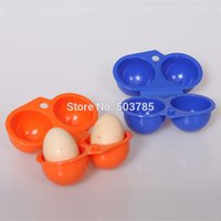 egg container - Outdoor Picnic BBQ Tool Camping Eggs Holder Plastic Egg Storage Box Carrier Container