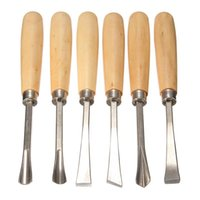 Wholesale Graver Knife Sets Sharpener Straight Handle Wood Working Cutter Chisel Chisel Root Wood Caving Tools