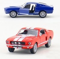 baby cobra - Gift for baby pc cm delicacy cobra GT500 Ford mustang alloy car model home decoration boy children toy