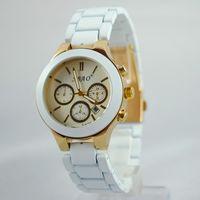 analog bandwidth - New fashion casual round stainless steel quartz watch alloy watch unisex watch bandwidth mm