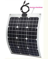 used boats - Factory directly semi flexible solar panel W marine bendable solar panel suit for V battery in marine using