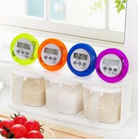 Wholesale Mini Magnetic Round LCD Digital Cooking Kitchen Gadget Countdown Alarm Timer Brand New Good Quality