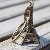 eiffel tower - zakka retro exquisite small business promotional gifts Eiffel tower in Paris France Eiffel Tower keychain