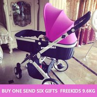 Wholesale High Quality Original Two Way Push Ultra Light Freekids Baby Stroller Colors free Gifts Baby Car