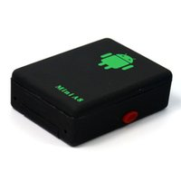 Wholesale Mini Global Real Time GPS Tracker A8 Gsm mhz GPRS GPS Tracking Device with SOS Button for cars bikes