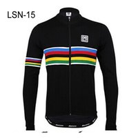 racing wear - 2014 Black SMS Cycling Jerseys Winter Long Sleeve Cycling Jerseys High performance High Quality Racing Jersey Bicycle Wear LSN